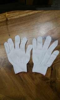 Brand new hand gloves white glove