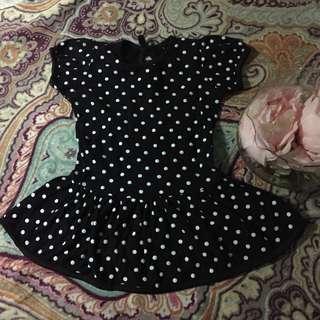 Polkadot Peplum Dress / Top