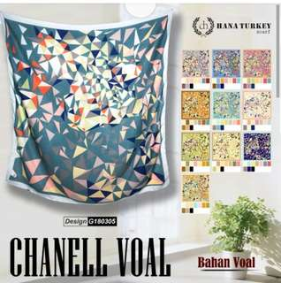 Chanell Voal by Hana Turkey