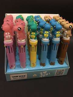 Pen 10 warna dino