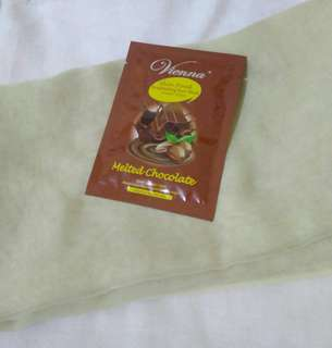 Vienna Skin Food Brightening Face Mask Melted Chocolate