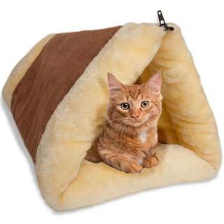 Cat tunnel pet bed indoor cushion mat dog kitten shack