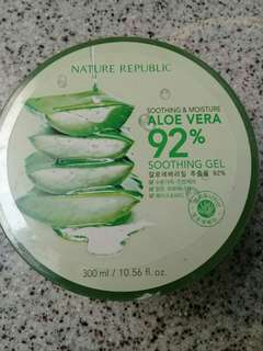 Nature Republic Aloe Vera 92% Ori 100%