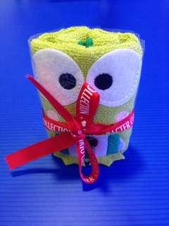 Sanrio kerokerokeroppi handkerchief