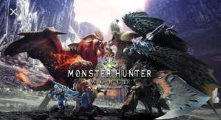 Monster hunter world boosting service