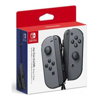 Switch Joy Con (Grey) (3 Months Maxsoft Warranty)