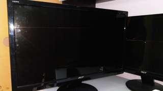 Acer LCD 電腦螢幕model p225hq bmd (21.5寸)& p235h Mbmid (23寸)