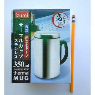 IZUMI Japan 350ML Stainless Steel Thermal Mug