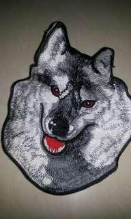 Patch wolf #terbangkesingapura