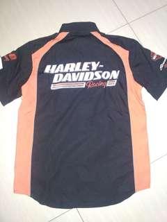 Kemeja Harley Davidson Racing ( original )