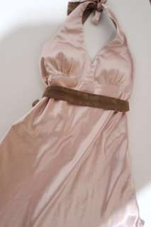 ✨REPRICED✨ Rose Gold Satin Cocktail Dress