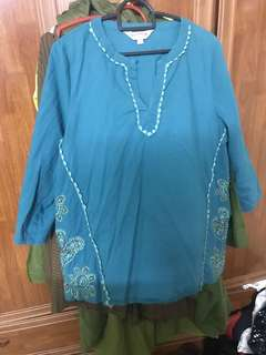Blouse east india manik