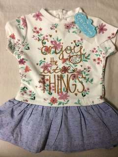 Baby dress ''Enjoy the Little Things''