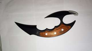 double bladed knife