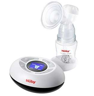 *New* Nuby Natural Touch Electric Breast Pump - Electric 2 Phase Breast Pump