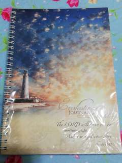 Lighthouse ring binded Journal