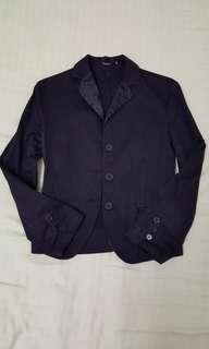 People's black blazer