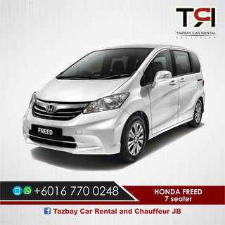 Honda Freed 7 Seaters