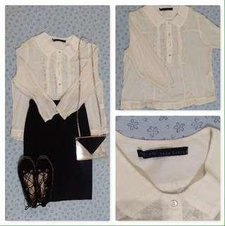 Zara Long Sleeve Blouse