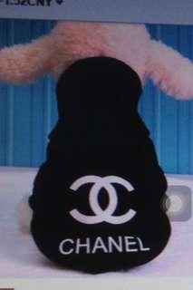 Chanel blouse (black / pink)
