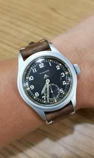 TIMOR WWW BRITISH Military watch not iwc omega Jaeger 軍錶