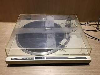 PIONEER早黑膠機 早期黑膠機 黑膠機擺飾 黑膠機 復古黑膠機 造型背景 拍戲道具
