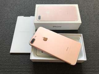 Iphone 7 Plus 128gb Rose Gold Factory Unlocked Smooth Complete