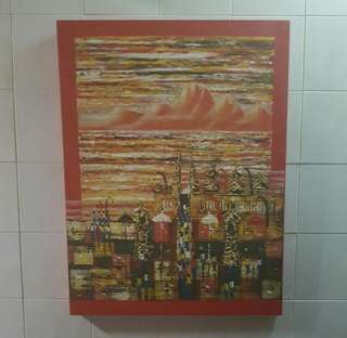 Balinese Oil Painting