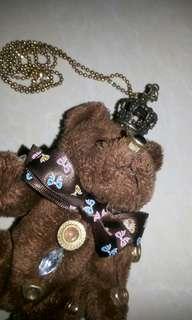 Kalung beruang #terbangkesingapura