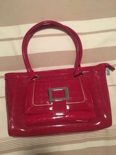 Vera May Red Handbag