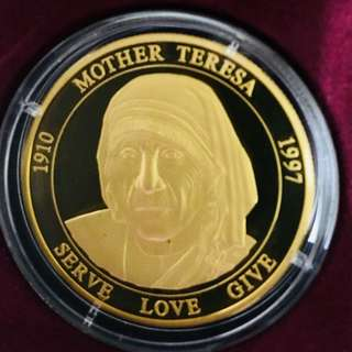 1997 Mother Teresa Malta Commemorative Proof Coin Set