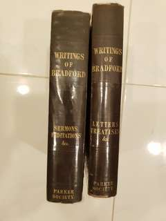 Vintage Writings of Bradford Sermons and Letters Treatises Parker Soceity