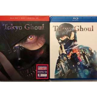 TOKYO GHOUL BLU RAY DVD 2 DISC SET + SLIPCOVER SLEEVE