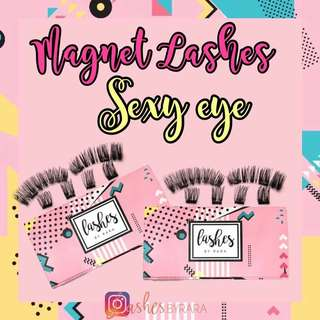 🚚 LASHES BY RARA - MAGNETIC FALSE EYELASHES (NO GLUE NEEDED)