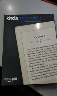 Kindle paperwhite 7th gen (brandnew)