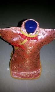 Qipao cover botol #terbangkesingapura