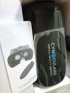 Cynoculars Virtual Reality Headset plus remote