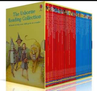 Usborne Reading collection 50 books