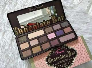 Too faced chocolate bar eyeshadow pallete