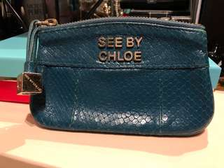Authentic Chloe coin bag wallet