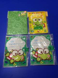 Sanrio keroppi passport holder