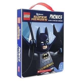 Lego DC Universe Super Heroes Phonics set (12 books)