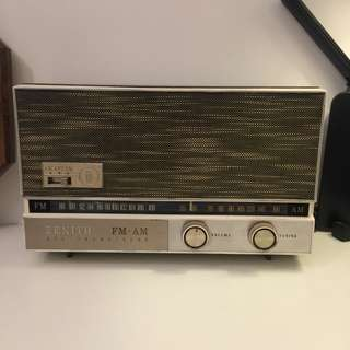 70's Zenith vintage antique radio 70年代 收音機