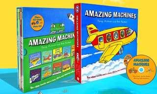 Amazing machines (10 books)