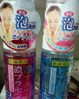 Placenta &Collagen Facial foam wash