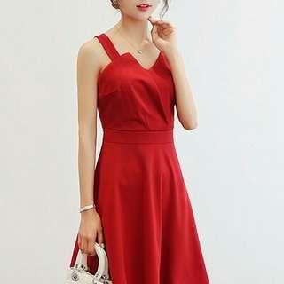 Arabelle Elegant Plain Dress