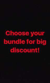 Your own bundle!