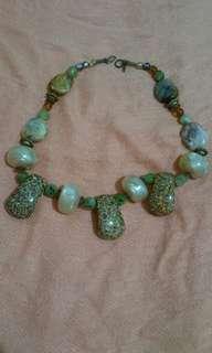 Teresa Goodall mix media necklace