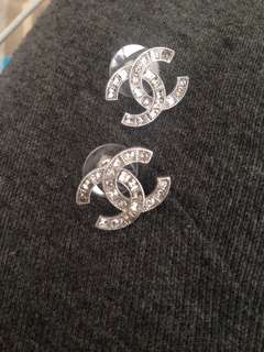 Authentic Preowned  Double C chanel earrings A88375