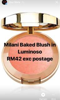 💯% Authentic Milani Baked Blush in Luminoso